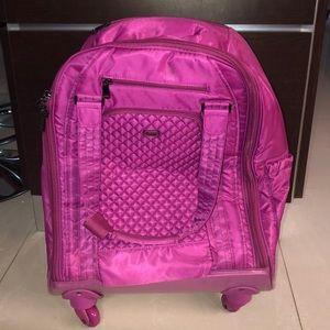 Lug Propeller Wheelie Bag CarryOn Overnight orchid
